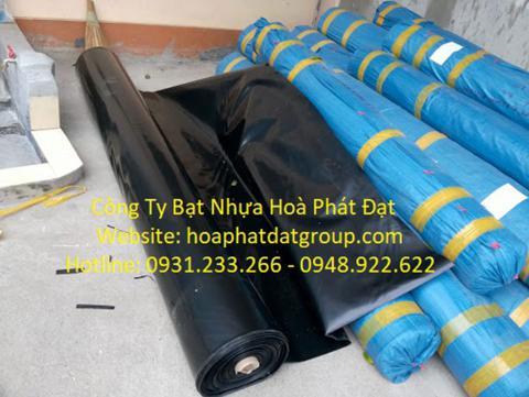 Báo giá bán lẻ màng bạt nhựa chống thấm HDPE màu xanh đen lót ao hồ bờ ao chứa nước giá rẻ tại Phủ Lý Hà Nam