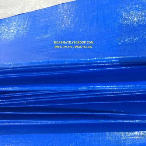 Báo giá bạt nhựa xanh cam 2 da khổ 4m*50m – 40kg