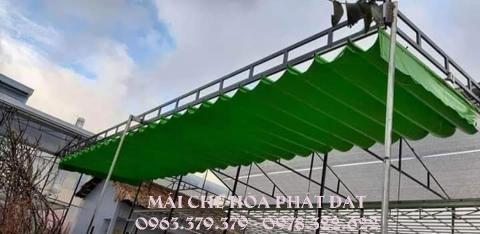 báo giá lắp đặt mái che bạt xếp, mái bạt kéo lượn sóng uy tín tại QUẬN 3 - TPHCM