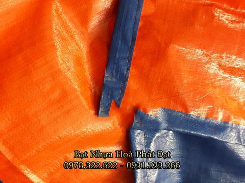Bảng giá bạt nhựa xanh cam, bạt sọc 3 màu, bạt che công trình xây dựng che nắng mưa ngoài trời giá rẻ tại Long Xuyên An Giang
