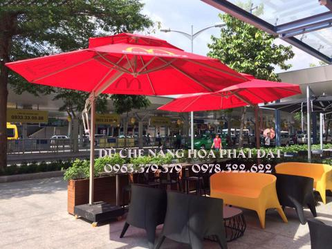 hình ảnh : sản phẩm ô dù che mưa nắng ngoài trời Hòa Phát Đạt