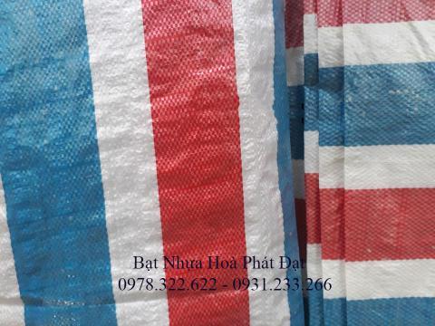 Bảng giá bạt nhựa xanh cam, bạt sọc 3 màu, bạt che công trình xây dựng che nắng mưa ngoài trời giá rẻ tại Bà Rịa Vũng Tàu