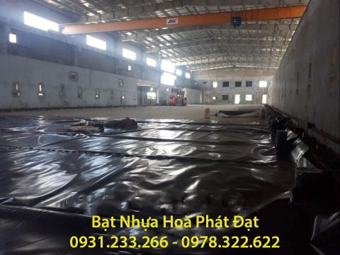 Báo giá bán lẻ màng bạt nhựa chống thấm HDPE màu xanh đen lót ao hồ bờ ao chứa nước giá rẻ tại Tp Bắc Kạn