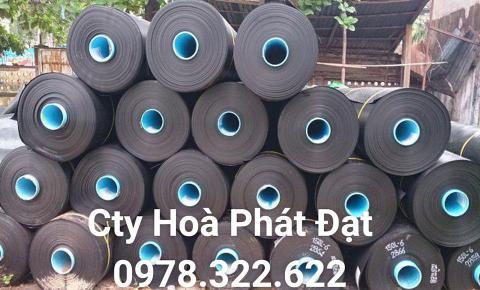 Báo giá bán lẻ màng bạt nhựa chống thấm HDPE màu xanh đen lót ao hồ bờ ao chứa nước giá rẻ tại Phan Thiết Bình Thuận