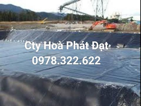 Báo giá bán lẻ màng bạt nhựa chống thấm HDPE màu xanh đen lót ao hồ bờ ao chứa nước giá rẻ tại Buôn Ma Thuột Đăk Lăk