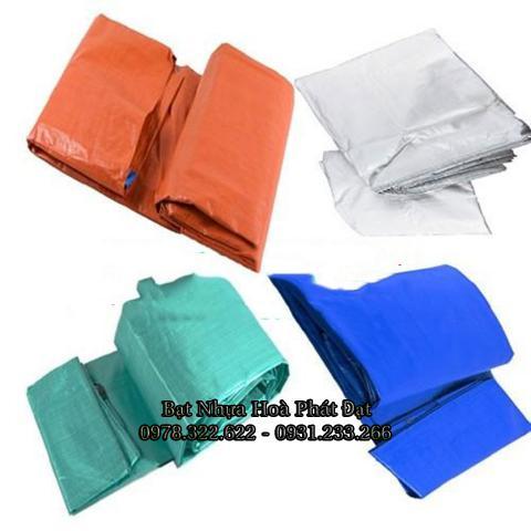 Bảng giá bạt nhựa xanh cam, bạt sọc 3 màu, bạt che công trình xây dựng che nắng mưa ngoài trời giá rẻ tại Việt Trì Phú Thọ