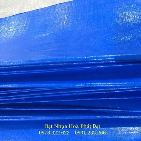 Bảng giá bạt nhựa xanh cam, bạt sọc 3 màu, bạt che công trình xây dựng che nắng mưa ngoài trời giá rẻ tại Ninh Thuận