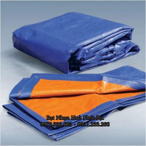 Bảng giá bạt nhựa xanh cam, bạt sọc 3 màu, bạt che công trình xây dựng che nắng mưa ngoài trời giá rẻ tại Quảng Ngãi