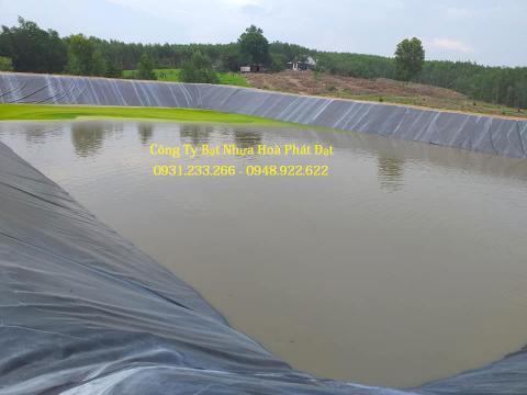 Chuyên cung cấp thi công màng bạt nhựa HDPE lót, trải ao hồ nuôi tôm cá, thủy hải sản giá rẻ tại Đồng Xoài Bình Phước