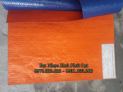 Bảng giá bạt nhựa xanh cam, bạt sọc 3 màu, bạt che công trình xây dựng che nắng mưa ngoài trời giá rẻ tại Hà Tĩnh