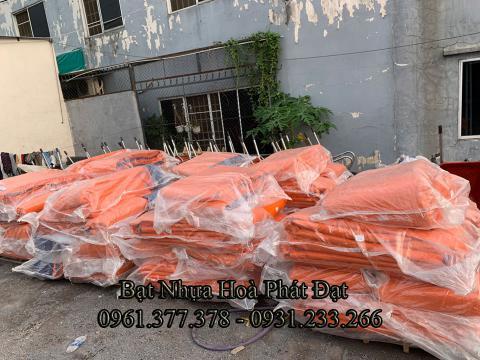 Bảng giá bạt nhựa xanh cam, bạt sọc 3 màu, bạt che công trình xây dựng che nắng mưa ngoài trời giá rẻ tại Hải Dương