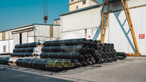 Báo giá bán lẻ màng bạt nhựa chống thấm HDPE màu xanh đen lót ao hồ bờ ao chứa nước giá rẻ tại Tp Bà Rịa Vũng Tàu
