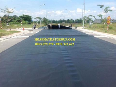 Báo giá bán lẻ màng bạt nhựa chống thấm HDPE màu xanh đen lót ao hồ bờ ao chứa nước giá rẻ tại Điện Biên Phủ