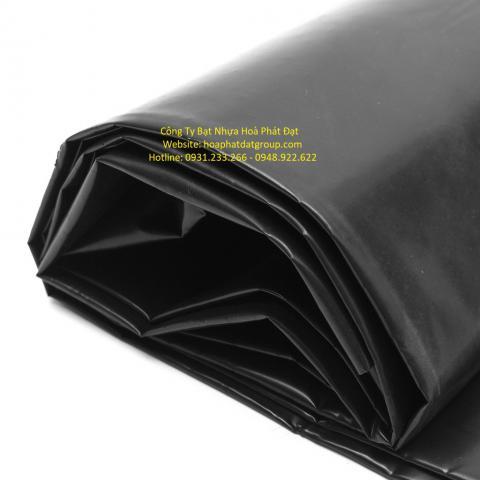 Báo giá bạt nhựa che phủ đen – đen  khổ 4m*100m – 40kg