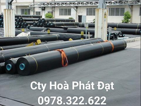 Báo giá bán lẻ màng bạt nhựa chống thấm HDPE màu xanh đen lót ao hồ bờ ao chứa nước giá rẻ tại Hà Nội