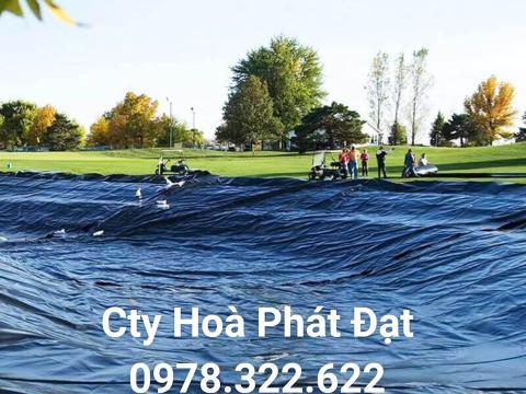 Báo giá bán lẻ màng bạt nhựa chống thấm HDPE màu xanh đen lót ao hồ bờ ao chứa nước giá rẻ tại Tp Hồ Chí Minh