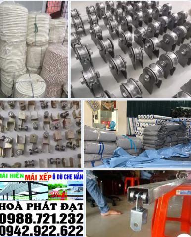 Hình ảnh : sản phẩm bạt che xếp bạt kéo di động giá rẻ Hòa Phát Đạt