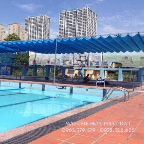 Hình ảnh : sản phẩm mái che di động đẹp cho hồ bơi bể bơi