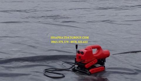 Báo giá bán lẻ màng bạt nhựa chống thấm HDPE màu xanh đen lót ao hồ bờ ao chứa nước giá rẻ tại Đà Lạt Lâm Đồng