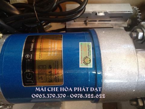 Hình ảnh : sản phẩm motor mái hiên mái xếp di động chính hãng Hòa Phát Đạt