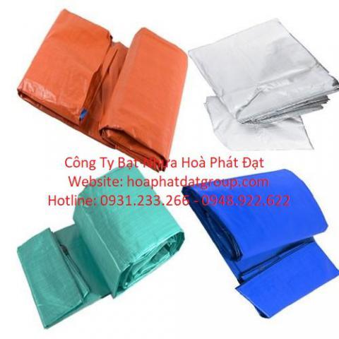 Báo giá bạt nhựa xanh cam 2 da khổ 2m*100m – 30kg