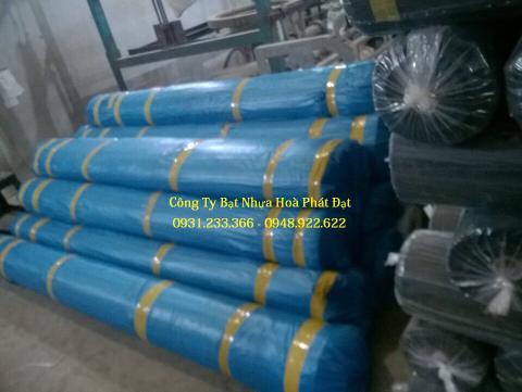 Báo giá vải bạt chống thấm nước HDPE xanh khổ 5m