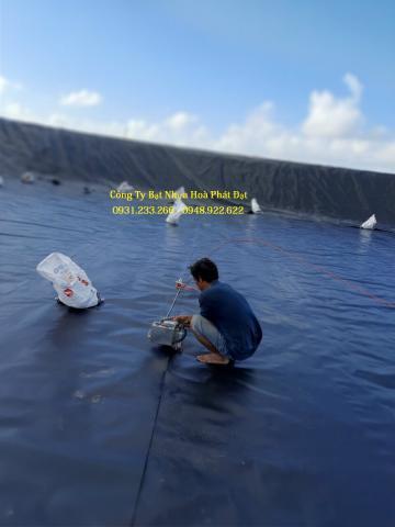 Báo giá bạt chống thấm lót ao hồ chứa nước khổ 5m
