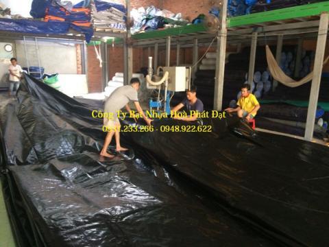 Báo giá bạt nhựa che phủ đen – đen khổ 10m*50m – 100kg