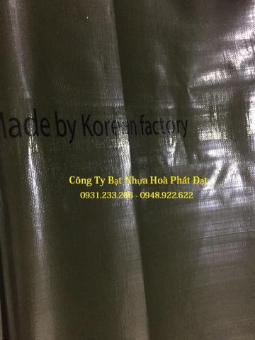 Báo giá bạt nhựa che phủ xanh rêu xanh tím khổ 4m*50m – 50kg